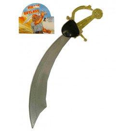 Krom zwaard grijs met ooglap