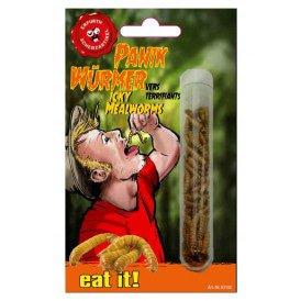 Glazen buisje met meelwormen 1.5 gram