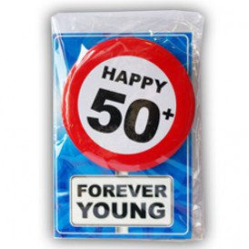 Happy age card 50 jaar