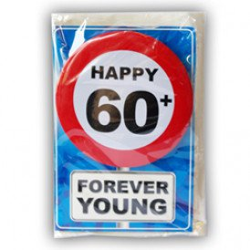 Happy age card 60 jaar