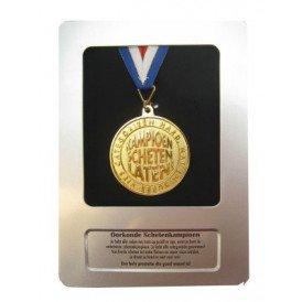 Oorkonde+medaille kampioen scheten
