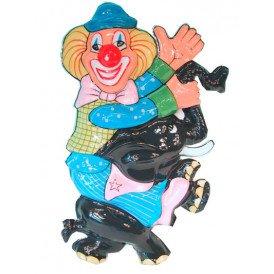 Clowndeco op olifanten 50cm