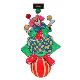 Clowndeco op bal / jongl 60cm