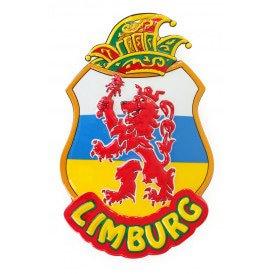 Wanddeco Limburg leeuw 55x35 cm