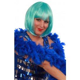 Boa brandveilig dik blauw 180cm/75gr