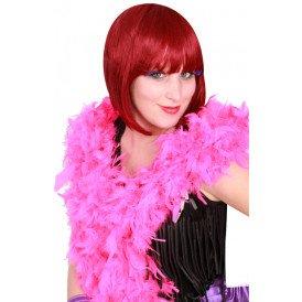 Boa brandveilig dik dark pink 180cm/75gr