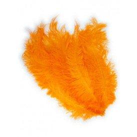 Floss veren oranje (Piet veren)