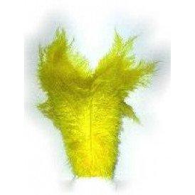 Floss veren geel (Piet veren)