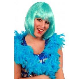 Boa turquoise 180 cm. 50 gr.