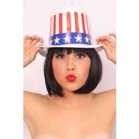 Plastic hoge hoed u.s.a.
