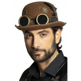 Bolhoed steampunk polyester