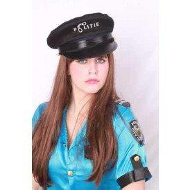 Politiepet met tekst politie kind