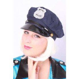 Special police pet blauw voor kinderen