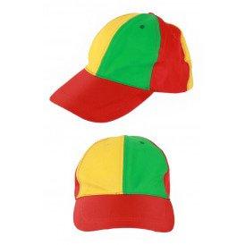 Pet rood/geel/groen verstelbaar