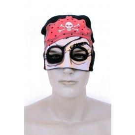 Muts piratenmasker gebreid