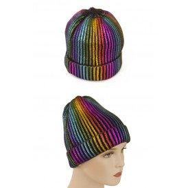 Ijsmuts glitter regenboog