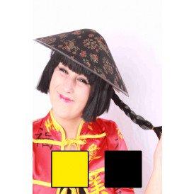 Chinese hoed vilt + staart ass