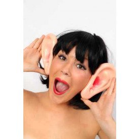 Diadeem grote oren plastic