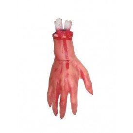 Afgehakte hand + bloed (Halloween)