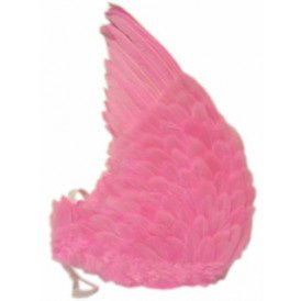 Engelen vleugels roze veren