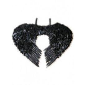 Engelen vleugels zwart veren