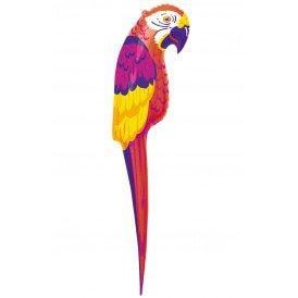 Papegaai opblaasbaar 120 cm.