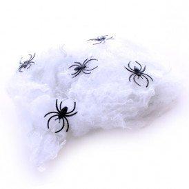 Spinnenrag 5 spinnen (Halloween) 50 gram