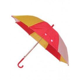 Paraplu rood/wit/geel 59 cm.