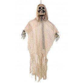 Hangende skelet beige met stok