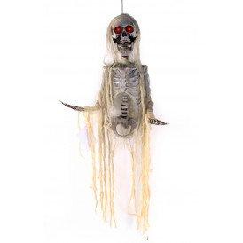 Hangend skelet met licht
