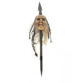 Speer met doodshoofd (Halloween)