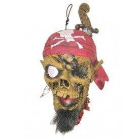 Afgehakt hoofd piraat