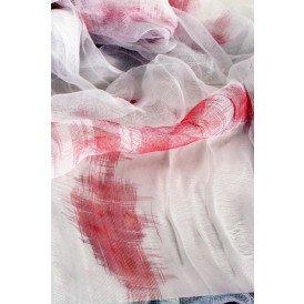 Tafelkleed met bloed (halloween)