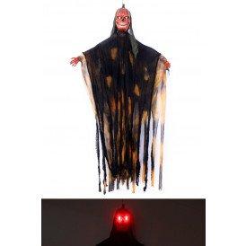 Pompoen zombie bewegend met licht en horror sound