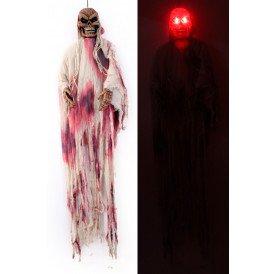 Bloederige skelet bewegend met licht