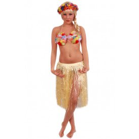 Hawaiirok naturel 55 cm