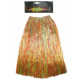 Hawaiirok multicolour dames 80cm.