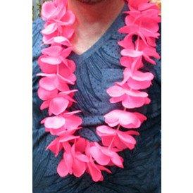 Hawaii slinger roze met licht