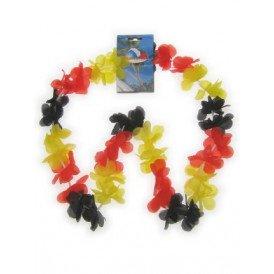 Hawaii slinger zwart/rood/geel