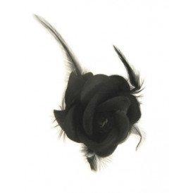 Haarklem zwarte roos groot
