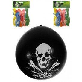 Themaballon doodshoofd piraat 32cm/11inch