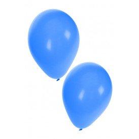 Ballon helium 50 x blauw nr 10