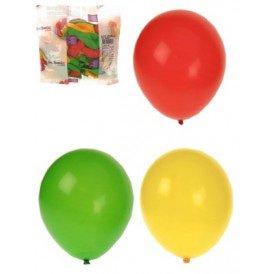 Ballonnen rood/geel/groen helium per 50 mt 10
