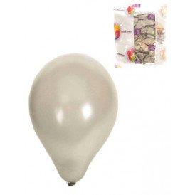 Ballon 100x zilver nr 12