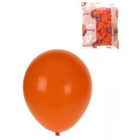 Ballon helium 100x oranje mt 10