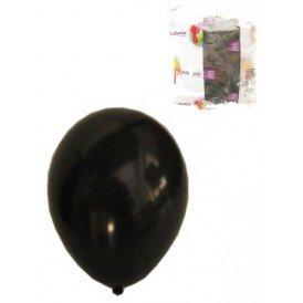 Ballon helium 100x zwart mt 10
