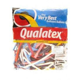Modeleerballon 260Q standaard ass per 100 Qualatex