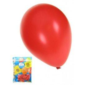 Kwaliteitsballon metallic rood per 50 mt 14/36cm