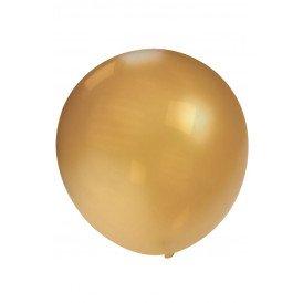 Megaballon metallic goud 36 inch