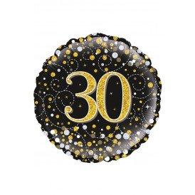 Folie-ballon 18 inch 45.7 cm Sparkling 30Holograpic